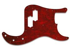 NEW - Pickguard For '70s Fender American Precision Bass - RED TORTOISE