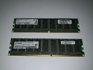 Lot of 2 x 512MB Cisco 3825 3845 Router Genuine Original RAM ,15-9165-01