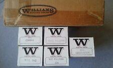 Williams Electric Trains O Gauge NYC 5 Car Madison Set #2503 ~ TS