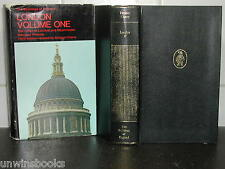 City LONDON & WESTMINSTER Buildings of England ARCHITECTURE: Nikolaus Pevsner HB