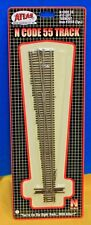 N Scale - ATLAS 2054 Code 55 # 10 Left Hand Manual Turnout
