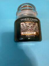 Yankee Candle House warmer  Medium 14.5 OZ  EUCALYPTUS  Brand NEW !!