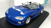 MINICHAMPS   Scale 1:43    Dodge  Viper  Cabriolet   Blue   1993   Used