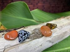 Crystal Grounding Kit, Crystals, Chakra, Wicca, Wiccan, Stone Kit, Stones, Gems,