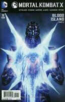 Mortal Kombat X #12 DC COMICS COVER A 2016 1ST PRINT  BLOOD ISLAND