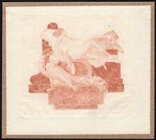 31)Nr.112- EXLIBRIS- Franz von Bayros - Erotik / erotic