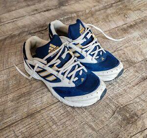 Adidas atlantic vintage sneakers trainers 90s rare white blue mens shoes eqt