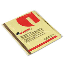 Universal Plastic-Coated Tab Dividers, 25 Alphabet Tabs, Letter, Buff, 25/Set