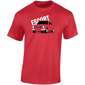 Lumipix Ford Escort MK1 Mens Classic Car T-Shirt Great Gift!