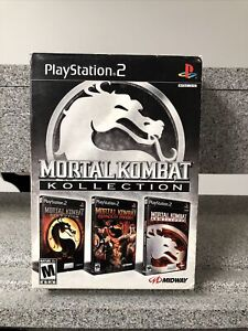 Mortal Kombat Kollection (Sony PlayStation 2 PS2) With Box - RARE