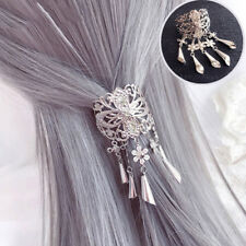 Vintage Women's Alloy Hair Clips Pin Hairpins Crystal Tassel Hairpin Accessories