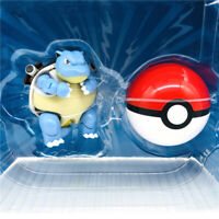 Pokemon Action Figure Blastoise Ultra Poké Ball Deformation Doll Child Toy New