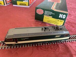 Re 4/4 BT =DC Nr.187 HAG HO WATWILL