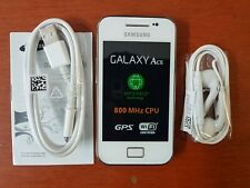 Samsung Galaxy Ace GT-S5830 - Ceramic White Smartphone - 2 Years Warranty