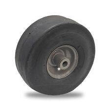 4.10 x 3.50 - 4 Wheel  Smooth Tread 3/4 Powdered Metal Bushing x 4 1/4 Symm Hub