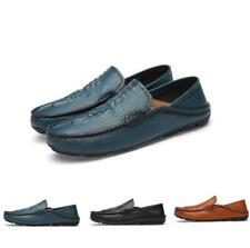 Mens Loafers Driving Alligator Pattern Slip On Moccasins Gommino Casual Shoes Sz