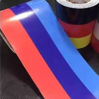 1M Car Auto PVC Body Sticker Color Stripes Decal Self-adhesive Removable