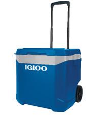 Igloo Latitude 56 Litre 60QT Rolling Roller Cool Box NEW 2018 MODEL! BLUE / GREY