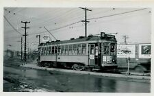 0C564 RP 1940s THE MILWAUKEE ELECTRIC RAILWAY CAR #644 RT19 W.ALLIS S.84th ST