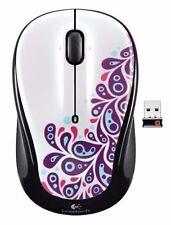 Logitech M325 Wireless Optical Mouse NANO USB Unifying Receiver Mac & Win 7/8/10