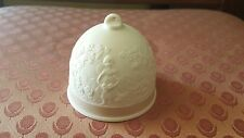 Vintage Lladro 1993 porcelain fall bell collector's society ornament