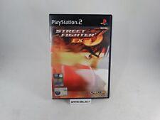 STREET FIGHTER EX3 EX 3 SONY PS2 PLAYSTATION 2 PAL ENG ESP ITA ITALIANO ORIGINAL