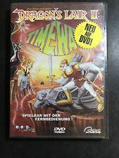 Dragon's Lair 2 Don Bluth DVD Video Game spielbar auf jeden DVD Player Gut @D07