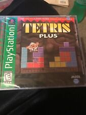 TETRIS Plus + (Sony PlayStation 1 1996) New!! FACTORY SEALED!!! PS1 Puzzle PSX