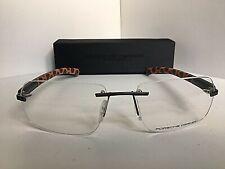 New PORSCHE DESIGN P 8202 A 58mm Rx Rimless Men's Eyeglasses Frame Italy