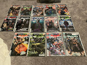 DC Comics Batman Tynion Full Run 86-99 Punchline Joker War Set VF/NM