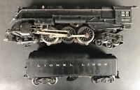 LIONEL 2056 2046W 4-6-4 STEAM LOCOMOTIVE & TENDER