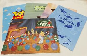Disney Store Lithos Rescuers - Lion King - Toy Story - Pocahontas - Beauty Beast