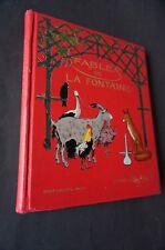 Fables de la Fontaine cent fables choisies dessins de Henry Morin 1932