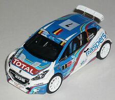 PEUGEOT 208 R5 PRINCEN  RALLY YPRES  2015    DECALS 1/43