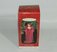 1997 Hallmark Keepsake Gone With the Wind Scarlett O'Hara Red Dress Ornament