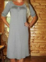Michael Stars dress one size shimmery summer metallic silver sexy cute gray