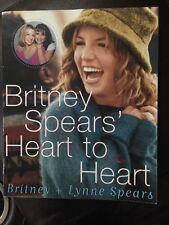 Britney Spears' Heart to Heart by Britney & Lynne Spears 2000 Paperback Cheap