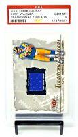 2000 Fleer Glossy Threads HOF Rams KURT WARNER Card PSA 10 GEM MINT / Pop 3