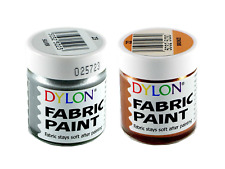 Dylon Fabric Paint Set - Metallic - 2 x 25ml Pots (22, 23)