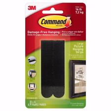 (3 PACKS) ~3M Command Damage-Free Large Adhesive Picture Hanging 12 Strips