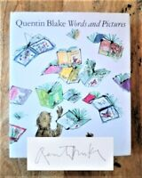 SIGNED 1ST EDITION WORDS AND PICTURES. QUENTIN BLAKE (ROALD DAHL - MATILDA, BFG)