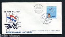 Ned. Antillen FDC E33_ 3M, blanco, Aruba St-Nicolaas ;