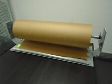 "24"" Paper Cutter Dispenser Gift Wrap Kraft Roll Paper Econo Line Duralov"