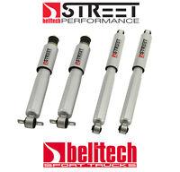 99-06 2wd Silverado GMC Sierra Street Performance Front/Rear Shocks for 5/7 Drop