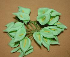 20PC Artificial PE Lily Bouquet Latex Bridal Flower Wedding Centerpieces Craft