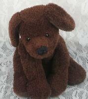 "Mary Meyer Sweet Rascals Puppy Dog Dark Brown Floppy 10"" Plush Stuffed Animal"