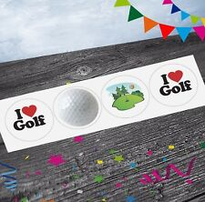 Crazy Golf Golfing Stickers (Pack of 12) Party Bags Goody Bag Fillers Boys Girls