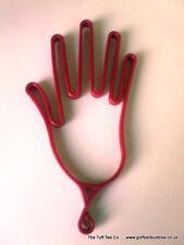 Red Plastic Golf Glove Dryer/ Hanger/Stretcher *Brand New*