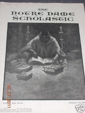 NOTRE DAME SCHOLASTIC - JANUARY 18, 1908 - RARE