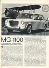1964 MG 1100 BMC  Road Test Vintage Article A5B